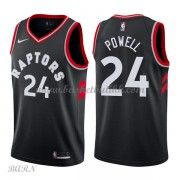 Barn Basketball Drakter Toronto Raptors 2018 Norman Powell 24# Statement Edition Swingman..