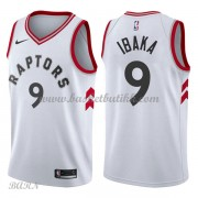 Barn Basketball Drakter Toronto Raptors 2018 Serge Ibaka 9# Association Edition Swingman..