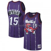 Toronto Raptors Mens 1998-99 Vince Carter 15# Purple Hardwood Classics..
