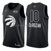 Toronto Raptors DeMar DeRozan 10# Black 2018 All Star Game NBA Basketball Drakter..
