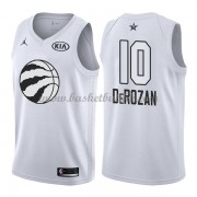 Toronto Raptors DeMar DeRozan 10# Hvit 2018 All Star Game NBA Basketball Drakter..