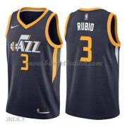 Barn Basketball Drakter Utah Jazz 2018 Ricky Rubio 3# Icon Edition Swingman..