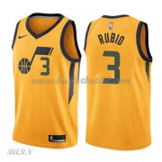 Barn Basketball Drakter Utah Jazz 2018 Ricky Rubio 3# Statement Edition Swingman..