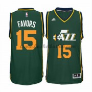 Utah Jazz NBA Basketball Drakter 2015-16 Derrick Favors 15# Alternate Drakt..