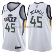 Utah Jazz NBA Basketball Drakter 2018 Donovan Mitchell 45# Association Edition..