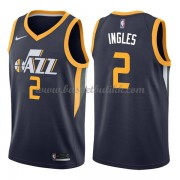 Utah Jazz NBA Basketball Drakter 2018 Joe Ingles 2# Icon Edition..
