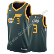 Utah Jazz NBA Basketball Drakter 2019-20 Ricky Rubio 3# Grønn Earned Edition Swingman Drakt..
