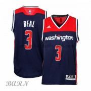 Barn Basketball Drakter Washington Wizards 2015-16 Bradley Beal 3# Alternate..