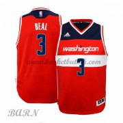 Barn Basketball Drakter Washington Wizards 2015-16 Bradley Beal 3# Road..