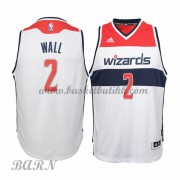 Barn Basketball Drakter Washington Wizards 2015-16 John Wall 2# Hjemme..