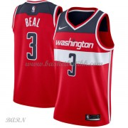 Barn Basketball Drakter Washington Wizards 2018 Bradley Beal 3# Icon Edition Swingman..
