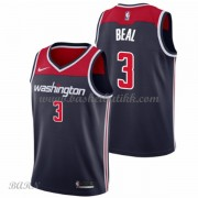 Barn Basketball Drakter Washington Wizards 2018 Bradley Beal 3# Statement Edition Swingman..
