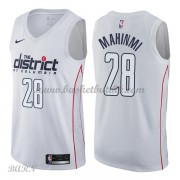 Barn Basketball Drakter Washington Wizards 2018 Ian Mahinmi 28# City Edition Swingman..
