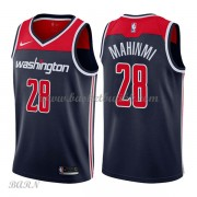 Barn Basketball Drakter Washington Wizards 2018 Ian Mahinmi 28# Statement Edition Swingman..