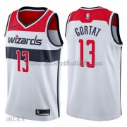 Barn Basketball Drakter Washington Wizards 2018 Marcin Gortat 13# Association Edition Swingman..