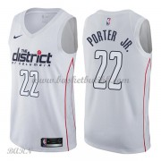 Barn Basketball Drakter Washington Wizards 2018 Otto Porter Jr. 22# City Edition Swingman..