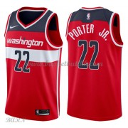 Barn Basketball Drakter Washington Wizards 2018 Otto Porter Jr. 22# Icon Edition Swingman..