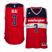 Washington Wizards NBA Basketball Drakter 2015-16 Bradley Beal 3# Road Drakt..