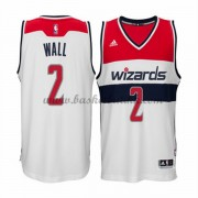 Washington Wizards NBA Basketball Drakter 2015-16 John Wall 2# Hjemme Drakt..