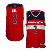 Washington Wizards NBA Basketball Drakter 2015-16 John Wall 2# Road Drakt..