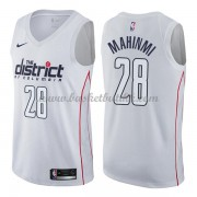 Washington Wizards NBA Basketball Drakter 2018 Ian Mahinmi 28# City Edition..