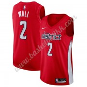 Washington Wizards NBA Basketball Drakter 2019-20 John Wall 2# Rød Earned Edition Swingman Drakt..