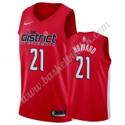 Washington Wizards NBA Basketball Drakter 2019-20 Dwight Howard 21# Rød Earned Edition Swingman Drak..
