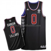 West All Star Game 2015 Damian Lillard 0# NBA Basketball Drakter..