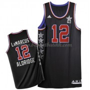 West All Star Game 2015 Lamarcus Aldridge 12# NBA Basketball Drakter..