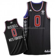 West All Star Game 2015 Russell Westbrook 0# NBA Basketball Drakter..