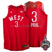 West All Star Game 2016 Chris Paul 3# NBA Basketball Drakter..