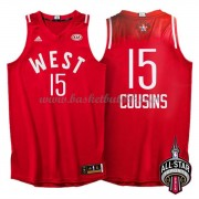 West All Star Game 2016 Demarcus Cousins 15# NBA Basketball Drakter..