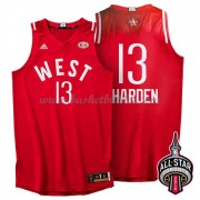 West All Star Game 2016 James Harden 13# NBA Basketball Drakter..