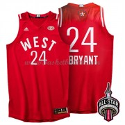 West All Star Game 2016 Kobe Bryant 24# NBA Basketball Drakter..