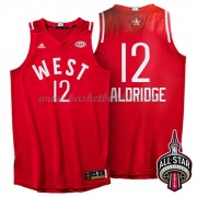 West All Star Game 2016 Lamarcus Aldridge 12# NBA Basketball Drakter..