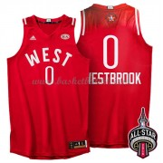 West All Star Game 2016 Russell Westbrook 0# NBA Basketball Drakter..
