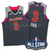 West All Star Game 2017 Chris Paul 3# NBA Basketball Drakter..
