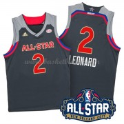 West All Star Game 2017 Kawhi Leonard 2# NBA Basketball Drakter..