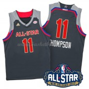 West All Star Game 2017 Klay Thompson 11# NBA Basketball Drakter..