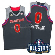 West All Star Game 2017 Russell Westbrook 0# NBA Basketball Drakter..