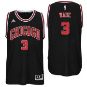 Chicago Bulls NBA Basketball Drakter 2017-18 Dwyane Wade 3# Alternate Drakt..