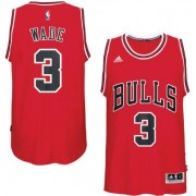 Chicago Bulls NBA Basketball Drakter 2017-18 Dwyane Wade 3# Road Drakt