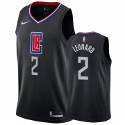 Los Angeles Clippers NBA Basketball Drakter 2019-20 Kawhi Leonard 2# Svart Statement Edition Swingma..