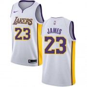 Barn Basketball Drakter Los Angeles Lakers 2018 LeBron James 23# Association Edition Swingman..
